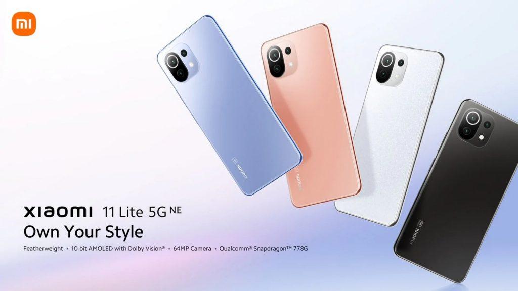 edwaybuy, kupong, aliexpress, Xiaomi-11-Lite-5G-NE-smarttelefon