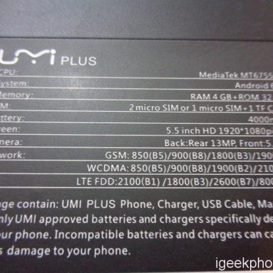UMI Plus Design, Hands On, Maskinvare, Antutu, GPS, Kamera, Battery Review (Kupong inkludert)
