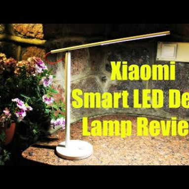 Xiaomi חכם LED מנורת שולחן העבודה סקירה