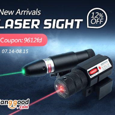 12% OFF Laser Sight & Laser Module Promotion od BANGGOOD TECHNOLOGY CO., LIMITED