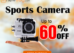 Sports Camera – Up to 60% off@Newfrog.com from Newfrog.com