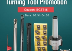 15% OFF for Turning Tool Promotion from BANGGOOD TECHNOLOGY CO., LIMITED
