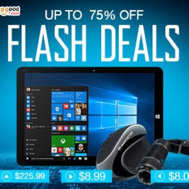 Flash nabídky: Až do 75% OFF pro počítače a sítě od společnosti BANGGOOD TECHNOLOGY CO., LIMITED