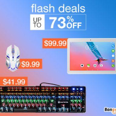 Flash nabídky: Až do 73% OFF pro počítače a sítě od společnosti BANGGOOD TECHNOLOGY CO., LIMITED