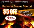 Barbecue सीजन स्पेशल, $ 5 $ 50 + कूपन Newfrog.com से