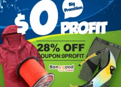 0 profit for Sport & Outdoor in US warehouse from HongKong BangGood network Ltd.