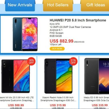 Save Biggest Discount On Latest Smartphone @Geekbuying Latest Deals