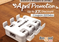 10% OFF April Promotion for Smart Home Products from BANGGOOD TECHNOLOGY CO., LIMITED