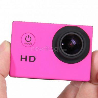 HD Sports Action Vanntett kamera Mini DV-Only $ 16.39 fra Newfrog.com