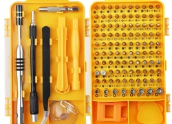 $14 with coupon for 108 in 1 Multi-function Screwdriver Tool Set from GEARBEST