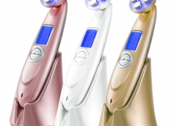 $5 OFF RF Ultrasonic LED Wrinkle Remover Facial Massager from Newfrog.com