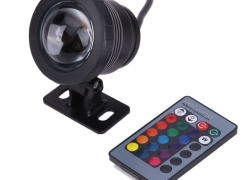 42% OFF Only $7.36 for 10W RGB Remote Control Underwater Lamp from Newfrog.com