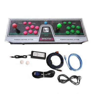 $ 139 z kuponem do gier wideo 1220 Konsola do gier Podwójny joystick Puszka Pandory Mccxx Wtyczka VGA HDMI USA 3 - CZERWONA + ZIELONA + ŻÓŁTA od GearBest