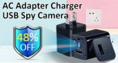 1080P USB Spy Camera nabíječka, 48% OFF z Newfrog.com