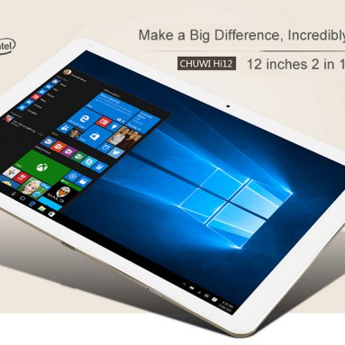 $229 with COUPON for Chuwi Hi12 Tablet Dual OS from GearBest