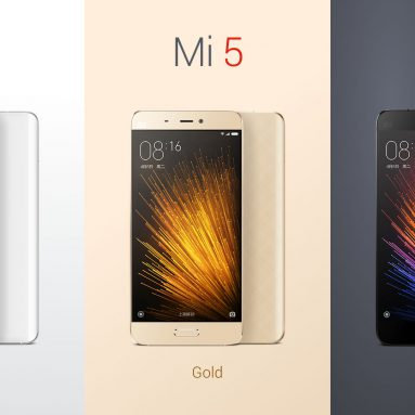 $199 with coupon for XiaoMi Mi5 64GB 4G Smartphone – INTERNATIONAL VERSION WHITE from GearBest