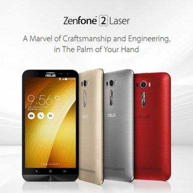 13 $ off COUPON for ASUS ZenFone 2 Laser fra GearBest