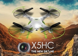 $47.99 with COUPON for Syma X5HC Quadcopter from GearBest