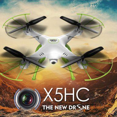 $ 47.99 עם קופון עבור סימה X5HC Quadcopter מ GearBest