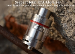 $17.99 COUPON for Original Wotofo Serpent Mini RTA Atomizer from GearBest