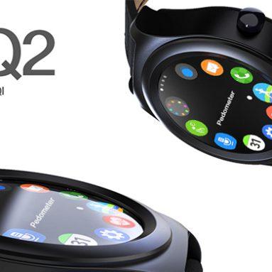 $ 20 off COUPON για Q2 Siri Έλεγχος καρδιακού ρυθμού Smart Watch από το GearBest