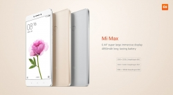 $298.99 deal for Xiaomi Mi Max 64gb Champagne from GearBest