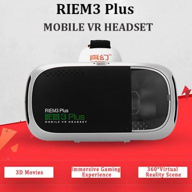 GearBest'ten RITECH RIEM11.40 Plus 3D VR Gözlükleri için COUPON ile $ 3