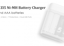 $9.99 FlashSale Coupon for Xiaomi ZI5 AA AAA Ni-MH USB Battery Charger from GearBest