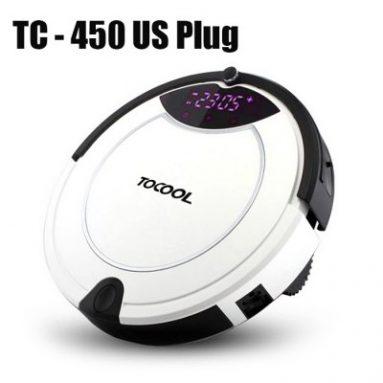 תהנה 12% הנחה עבור TOCOOL TC-450 חכם רובוטי שואב אבק ו Freeshipping מ GearBest