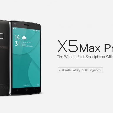 $ 79.77 med COUPON for DOOGEE X5 MAX Pro fra GearBest