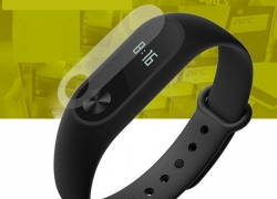 $1.51 only 0.1mm HD Protective Film for Xiaomi Miband 2 from GearBest