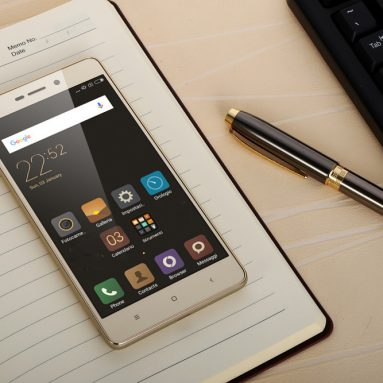 $123.99 with COUPON for Xiaomi RedMi 3S from GearBest