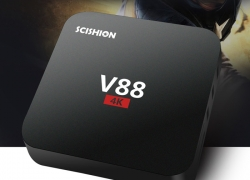 $22 with this COUPON for SCISHION V88 TV Box Rockchip 3229 Quad Core from GearBest