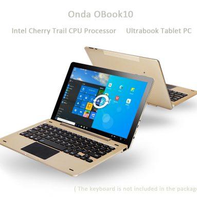 Onda OBook10 10 인치 Ultrabook 태블릿 PC Everbuying.net에서 $ 10.1 저장