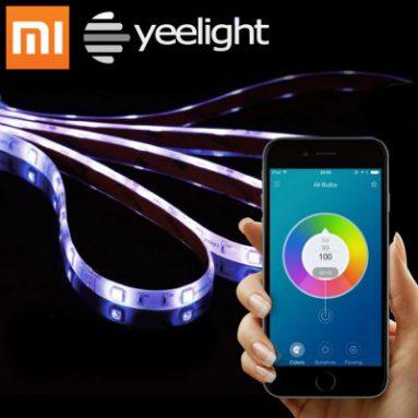 गियरबेस्ट से ज़ियामी येलइट स्मार्ट लाइट स्ट्राइप के लिए $ 7.19 कोऑपॉन बंद करें