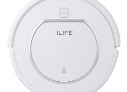 $69 with coupon for ILIFE V1 Robotic Vacuum Cleaner – US PLUG WHITE from GearBest