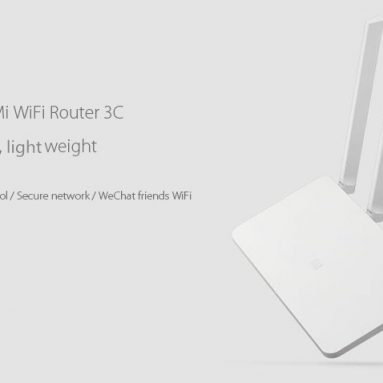 $ 24.99 with COUPON with Original Xiaomi Mi 802.11n 300Mbps WiFi Router from GearBest