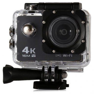 $ 5.00 off COUPON pre V3 4K WiFi športovú kameru 16MP od GearBest