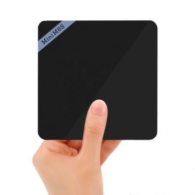 $2.30 off COUPON for Mini M8S II 4K Smart TV Box from GearBest