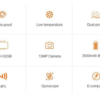 ULEfone ARMOR Thiết kế, Phần cứng, Pin, Máy ảnh Xem lại