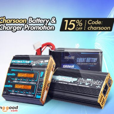 Up to 35% OFF for Charsoon Battery Charger with Extra 15% OFF Coupon from BANGGOOD TECHNOLOGY CO., LIMITED