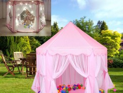 25% OFF $44.95 Princess Castle Children Tent Indoor Outdoor Theater Beach Tent Baby Toy from Newfrog.com
