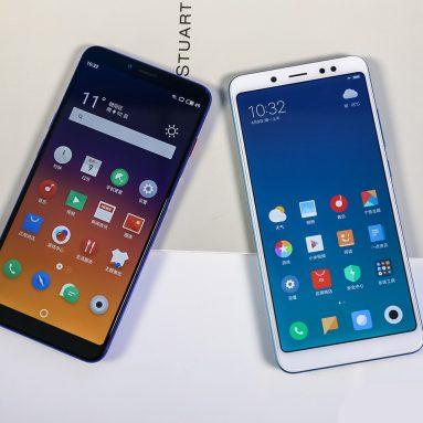 Meizu E3 vs Xiaomi Redmi Note 5 Hands-on Comparison Review: Which One Should You Buy?