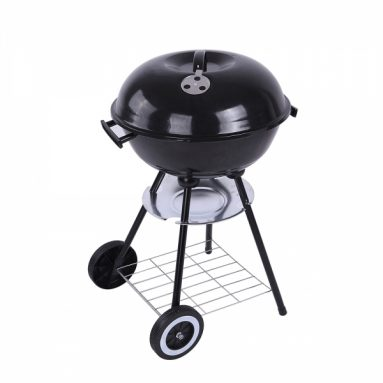 $49.99 With Code GRILL0420 for 18 Inch Round BBQ Barbecue Charcoal Grill @Tmart  from FASTBUY INC