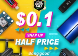 Low to $0.1 for Cyber Monday Sale from BANGGOOD TECHNOLOGY CO., LIMITED