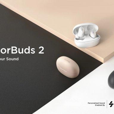 60 € με κουπόνι για 1 ΑΚΟΜΑ ColorBuds 2 TWS bluetooth 5.2 Ακουστικά 25dB ANC Ακουστικά ακύρωσης θορύβου Apt Adaptive Personalized SoundID Headsets από την BANGGOOD