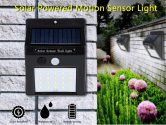 $9 with coupon for 20-LED Wireless Motion Sensor Solar Light Wall Lamp for Corridor Hallway Gate Courtyard – BLACK PACK OF 2 from GearBest