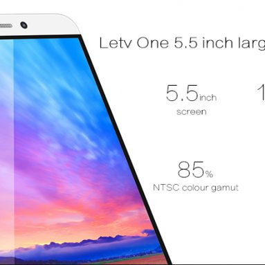 $128.99 ONLY for LETV Leeco One X600 Android 5.0 Lollipop 4G Phablet from Everbuying.net