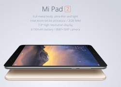 $161 with coupon for XiaoMi Mi Pad 2 16GB ROM  –  GOLDEN from GearBest