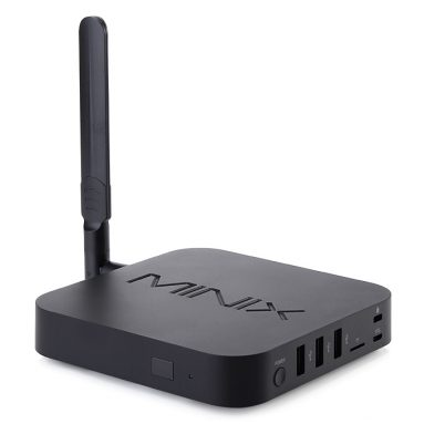 MINIX NEO U10 1K BOX + Minix NEO A4 Lite의 2 해제 Geekbuying의 Air Mouse